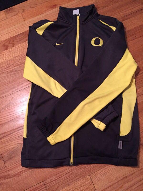 Nike Oregon Dri Fit Track Jacket Size Medium Clothing