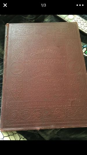 Reduced for quick sale!! $150. RARE....Set of OLD 1889 encyclopedias