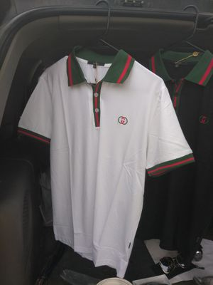 Large white and 2 black Gucci shirt
