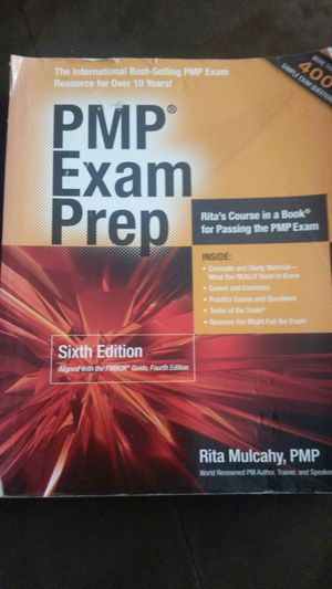 PMP EXAM PREP BOOK W/CD 6TH EDITION