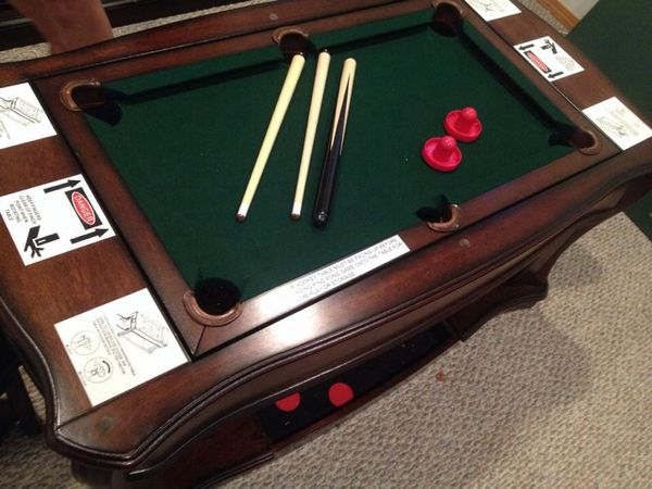 costco game/coffee table ( furniture ) in dupont, wa - offerup