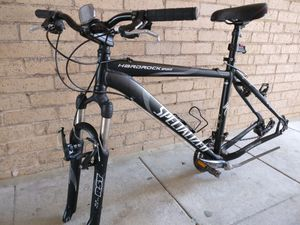 Mountain Bike/Bicycle Frame + Front Wheel w/tyre