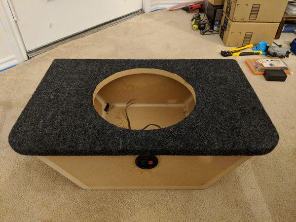 S2000 trunk subwoofer box enclosure