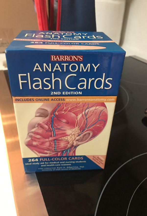 Barron\'s Anatomy Flash Cards, 2nd edition (Books & Magazines) in ...