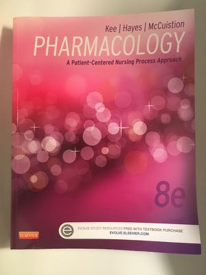 Pharmacology A Patient-Centered Nursing Process Approach 8th Edition
