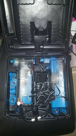 Airman Cordless Airpump Kit, 2 Guns , Car charger, nozzles awesome !! - $30