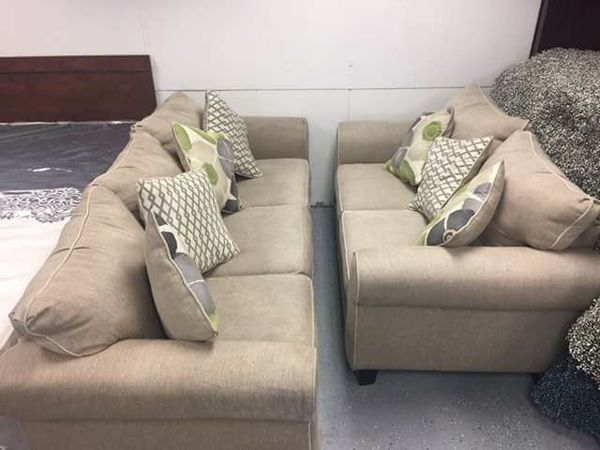 Living Room Furniture Jacksonville Fl lilith pond taupe 3 pc fabric living room set sofa bed with love