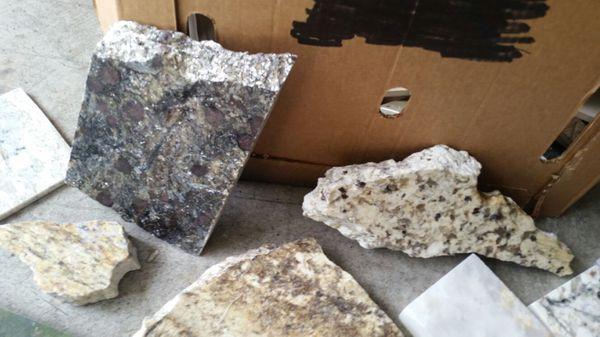 Slab Granite Countertops Granite Chunks