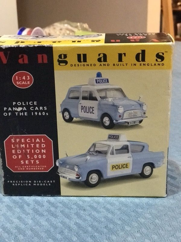 Vanguards Police Panda Car of the 1960 (Collectibles) in North ...