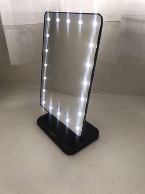 Lux box light up mirror
