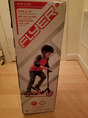 Brand new in box flyer scooter