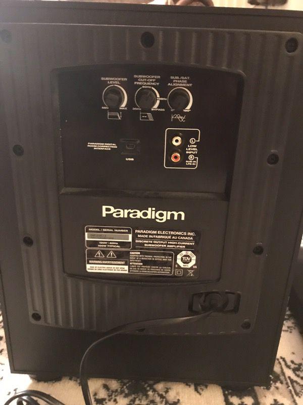 Paradigm DSP-3100 HomeTheater Sub