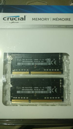 Hynix 2GB PC3-12800 DDR3-1600MHz Non-ECC 204pin Memory Module HMT425S6AFR6A-PB