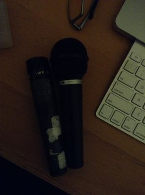 Two microphone for sale
