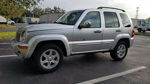 2003 JEEP LIBERTY LIMITED EDITION 4X2