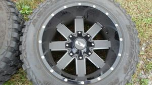 Ion wheels and mud tires