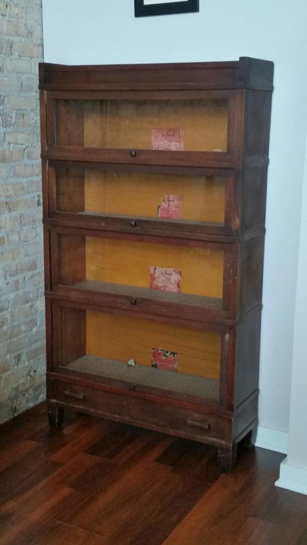 Antique sectional book case furniture in chicago il for Furniture 60618