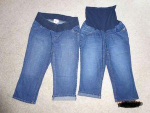 2 size Large Maternity Capri pants