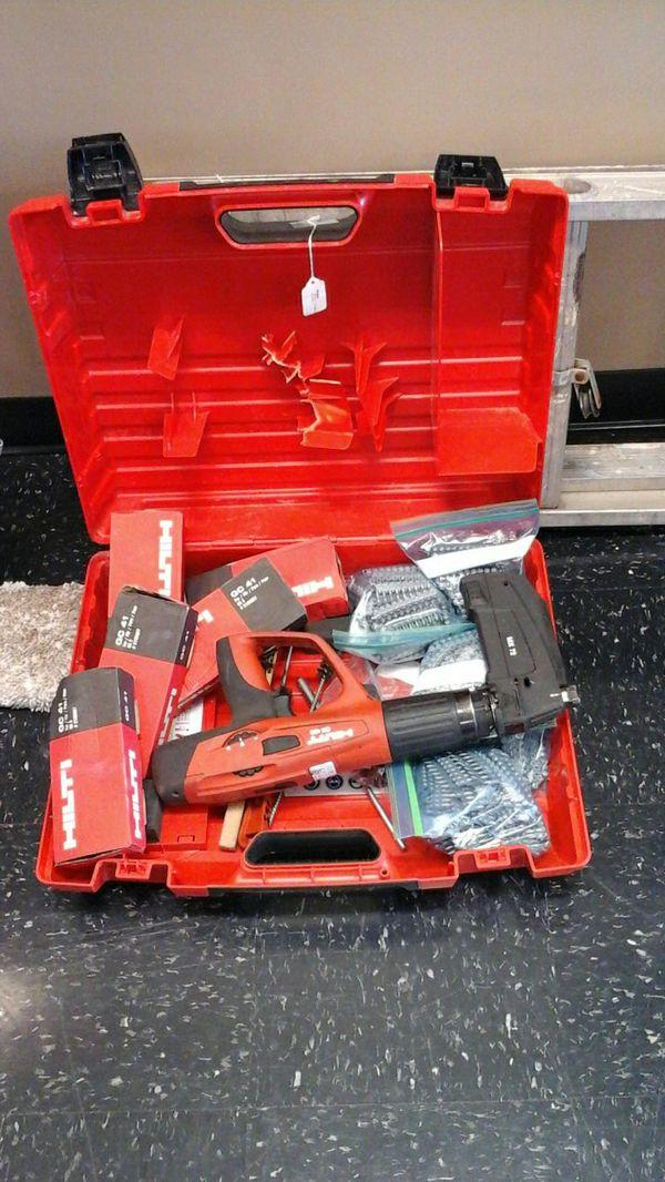 Hilti DX460 nail gun bundle (General) in Kansas City, KS - OfferUp