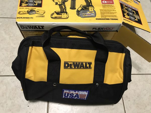 Deawlt set drills 60v new