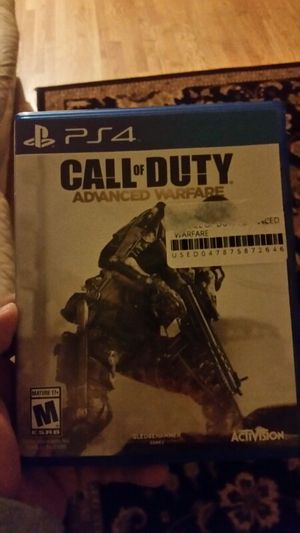 Call of Duty Advance warfare for ps4