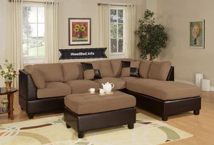 3 Piece Living Room Set $699.99 or as low as 17.89 per week... please visit (iNeedBed. info) for more details