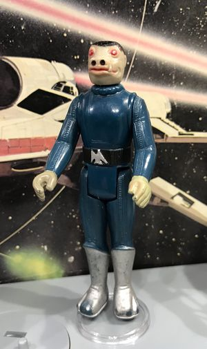 Vintage Star Wars Blue Snaggletooth Figure