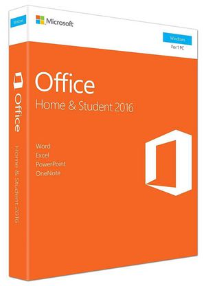 Мicrosoft Office Home and Student 2016 Product Key Card 1PC
