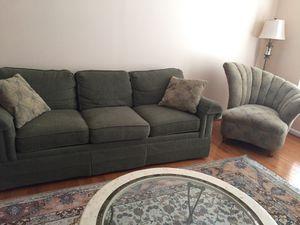 Living room furniture love seat sofa two single chairs