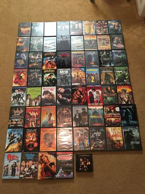 61 DVD Movies $1.00 each or $50 for all.