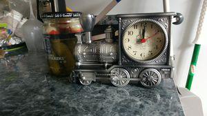 Train Clock, desk size