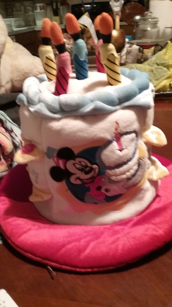 DISNEY SINGING CAKE HAT Baby Kids in Springfield MO OfferUp