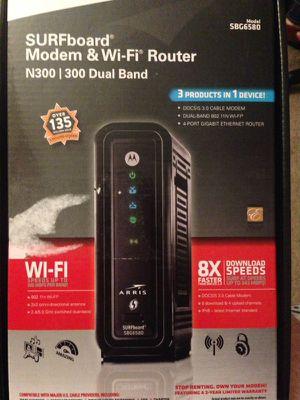 Motorola Surfboard SBG6580 D3 modem router