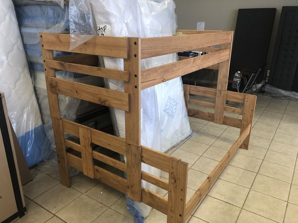 Twin Over Full Bunk Beds With Mattresses Furniture In Lexington