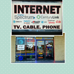 INTERNET, CABLE TV, ALARM, CAMARAS SERVICES. FREE✔. INSTALLATION✔ AND ACTIVATION.✔
