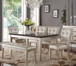 7PCS DINING TABLE SET BRAND NEW IN BOX