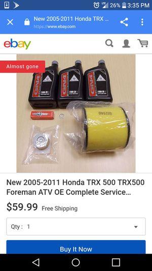 2005-2011 Honda Foreman ATV tune up kit