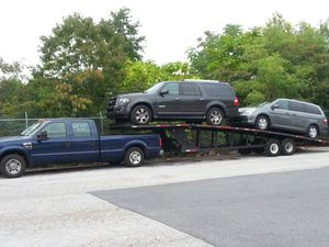 2008 ford f3500 super duty and hauler trailer 2008