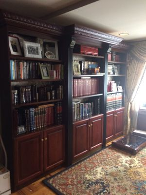 Bookshelves! Great for the reader or scholar!