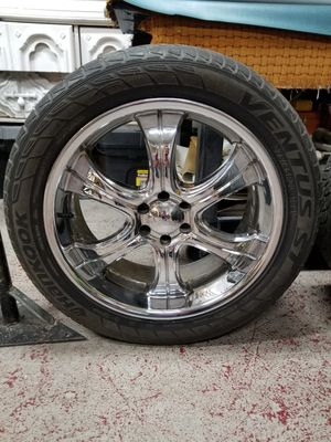 "boss motor sport chrome 20"" rims"