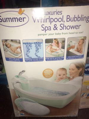 Spa & Shower for baby