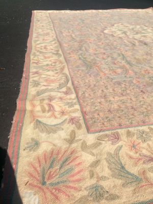 6 by 9 Hand Sewn Hand-knotted Accent Rug Imported Beautiful in person Make an Offer OBO