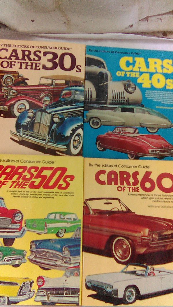 Consumer guides to vintage cars (Books & Magazines) in Palm Springs ...