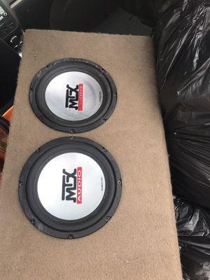 MTX AUDIO 6 Inch SPEAKERS in box
