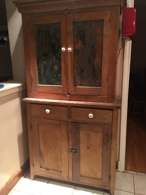 Antique Hutch 2 Piece