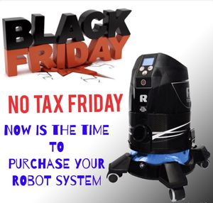 New Robot vacuum Black Friday special - No tax Friday !!!! Also is a free presentation