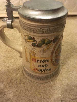 German stein mug