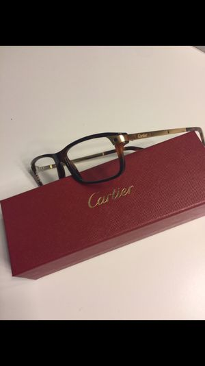 New Cartier Santos De Cartier eyeglasses for $520 local pickup cash