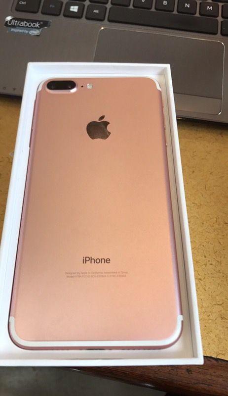 iphone 7 plus rose gold 32gb factory unlocked 590 cell. Black Bedroom Furniture Sets. Home Design Ideas