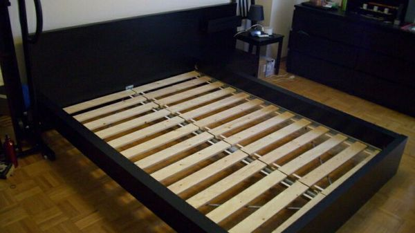 ikea malm high complete queen bed frame - High Queen Bed Frame